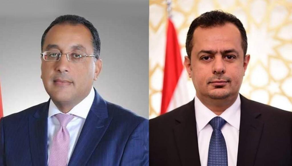 رئيس الوزراء مع نظيره المصري